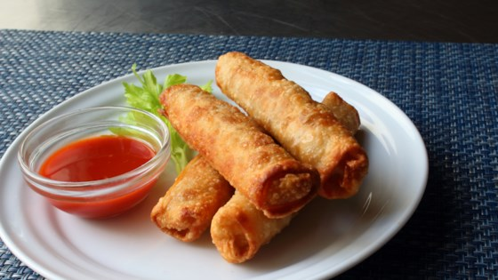 Photo of Mini Buffalo Chicken Egg Rolls by Chef John