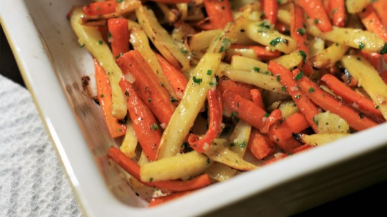 Photo of Roasted Parsnips and Carrots by joyfulg
