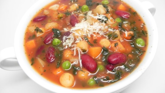Photo of Hash Brown Potato Minestrone Soup by amberleek