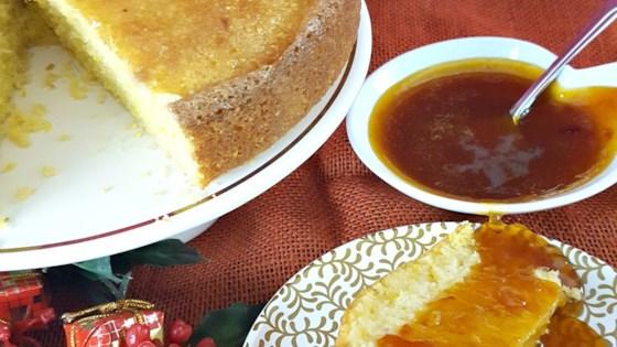 Photo of Polenta Cake with Orange Sauce by friederike