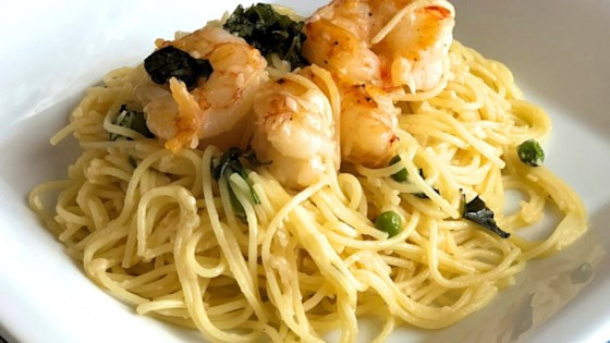 Last-Minute Lemon Spaghetti and Shrimp Recipe