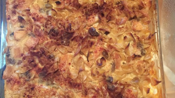 Photo of Grandma's Noodle Pudding (Kugel) by Kera Miller Donovan