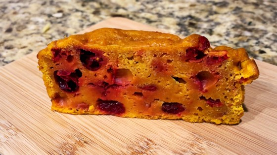 Photo of Pumpkin Cranberry Bread by LINDAGEAN