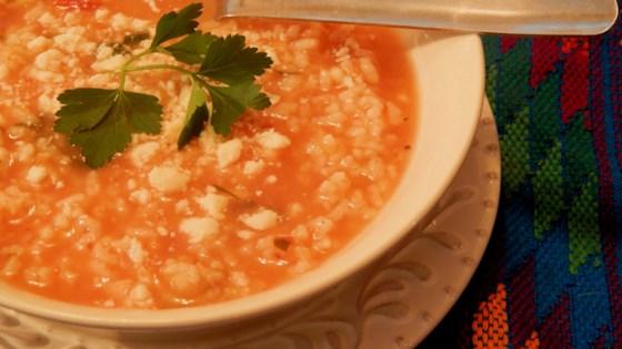 Photo of Mexican Rice Soup (Sopa Aguada de Arroz) by María Vázquez