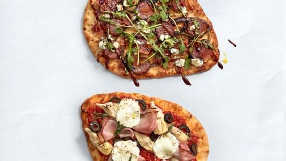 Photo of Flatbread Salami Pizza by Dietz & Watson