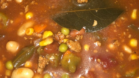 Photo of Ground Beef and Vegetable Soup by Barry Heuser