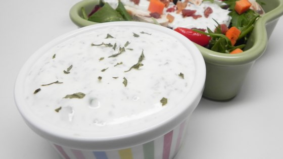Photo of Healthier Buttermilk Ranch Dressing by Soup Loving Nicole