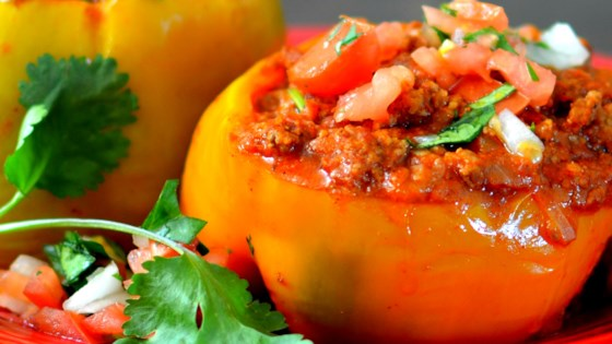 Photo of Instant Pot® Beef-Stuffed Peppers by bd.weld