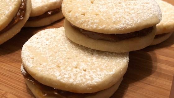 Photo of Alfajores (Dulce de Leche Sandwich Cookies) by vegchef