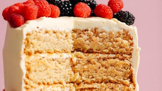Photo of Vanilla Sesame Cake by Jubilee