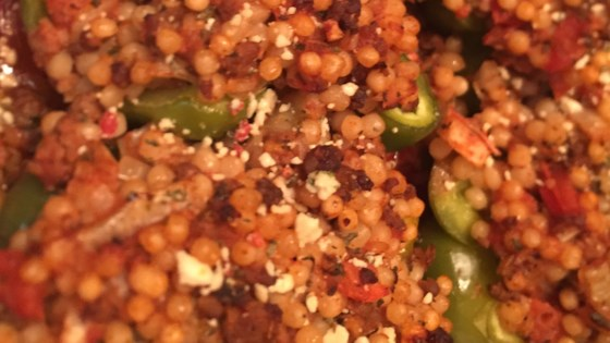 Photo of Turkey and Couscous-Stuffed Peppers with Feta by canton21224