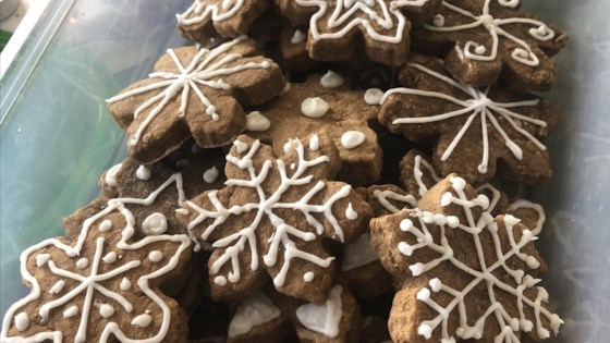 Photo of Gingerbread Cookie Frosting by Alison Hendon