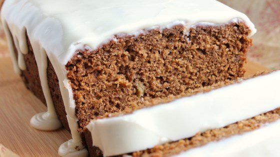Photo of Banana Gingerbread with Vanilla Glaze by Dianne