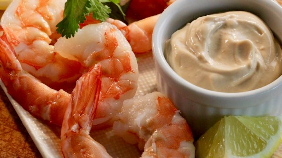 Photo of Creamy Mustard Dipping Sauce for Shellfish by lutzflcat