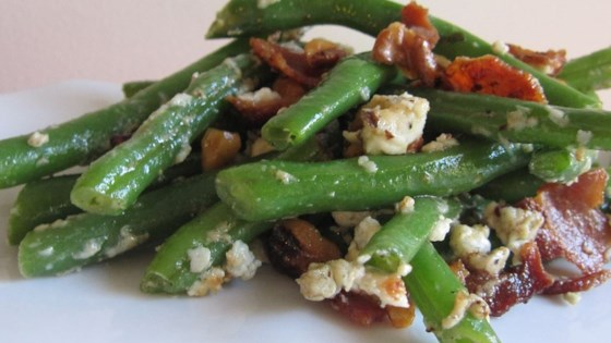 Photo of Green Beans with Blue Cheese by Kate