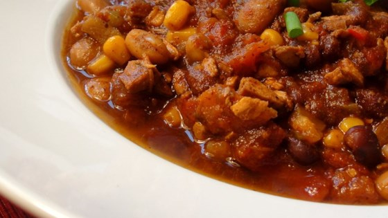 Photo of Chicken and Two Bean Chili by Ash and Steve