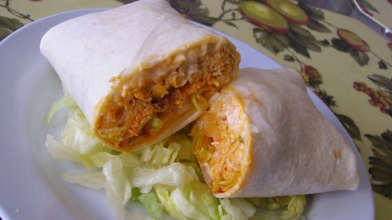 Photo of Buffalo Chicken and Ranch Wraps by figgy