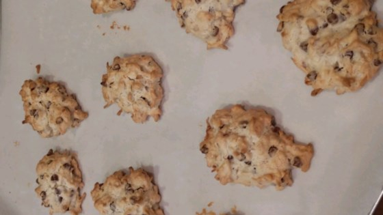 Photo of Almond Chocolate Coconut Cookies I by Suzanne Stull