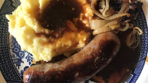 Photo of Bangers and Mash by AMANDA FAIR