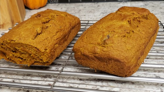 Photo of Amazing Vegan Pumpkin Bread by Heather