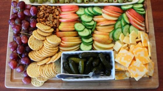 Snack-It-Up Appetizer Board Recipe