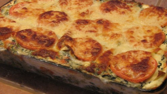 Photo of Cheesy Vegetable Lasagna by Rachel