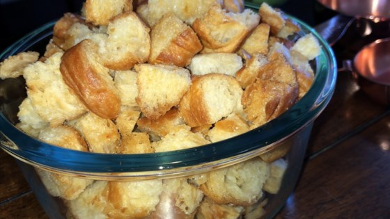 Photo of Croissant Croutons by Lauren