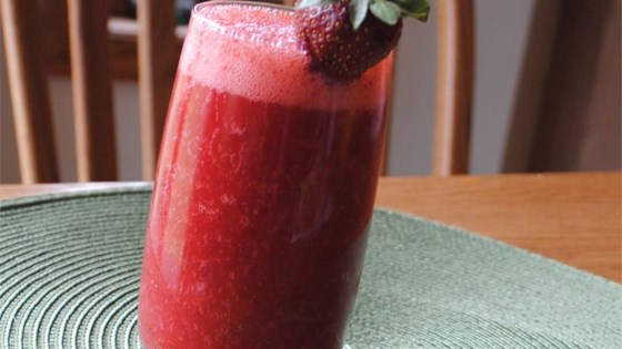Homemade Strawberry Nectar