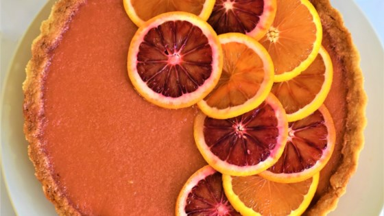Photo of Blood Orange Tart by Kim