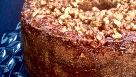Photo of Sweet Potato Cake with Maple-Bourbon Pecans by Bibi
