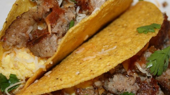 Photo of Sausage and Egg Tostadas by JimmyDean
