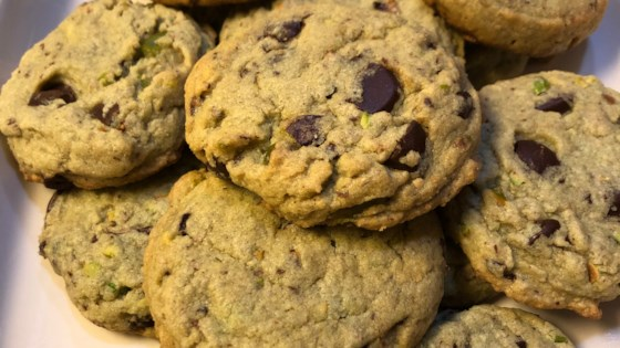 Photo of Pistachio Chocolate Chip Cookies by Lisa Schmaltz