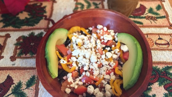 Photo of Garden Fresh Farro Bowl with Balsamic Dressing by tcasa