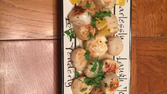 Photo of Scallops with Oranges and Vanilla Beurre Blanc by Juliana Hale