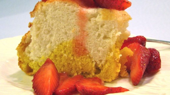 Photo of Two Part Angel Cake by Liz