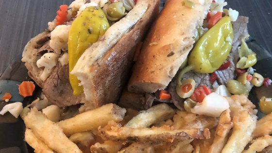 Photo of Chicago-Style Italian Beef Sandwich by Brian Genest