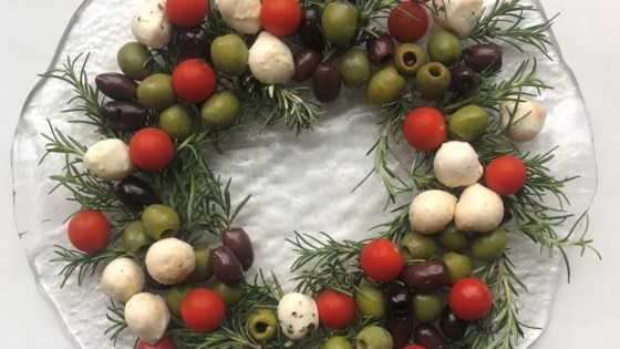 Photo of Festive Olive and Cheese Appetizer by Jones