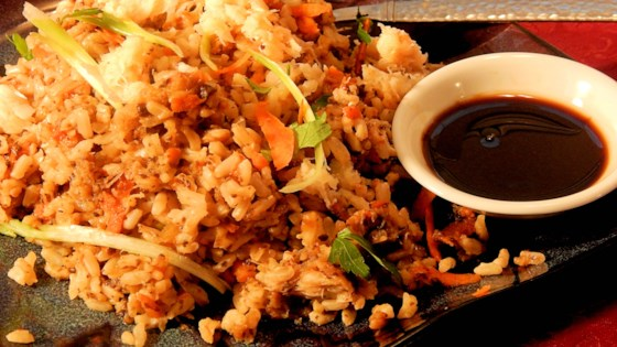 Photo of Japanese-Style Crab Fried Brown Rice by Jane