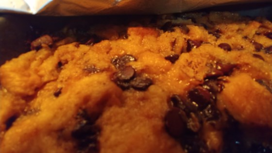 Photo of Chocolate Croissant Bread Pudding by MichelleD