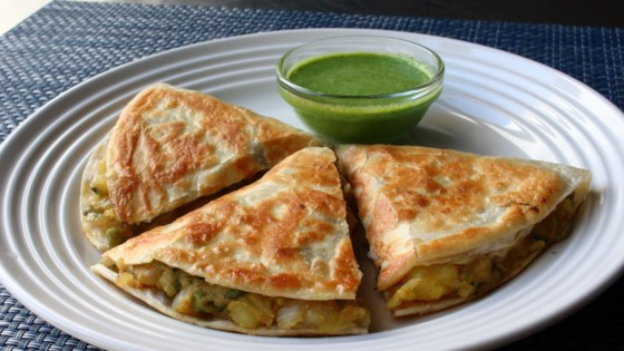Photo of Samosadilla (Samosa Quesadilla) by Chef John