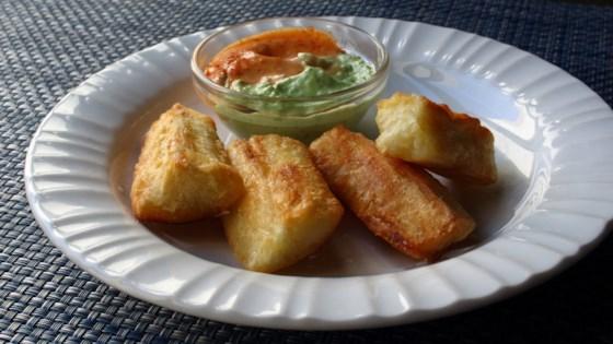 Photo of Crispy Yuca Fries by Chef John