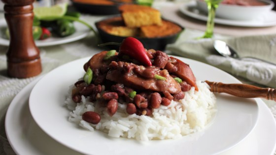 authentic louisiana red beans and rice review by valerie