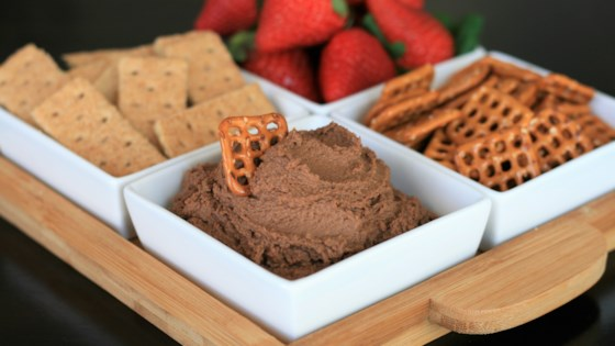 Photo of Chocolate Cake Batter Hummus by France C