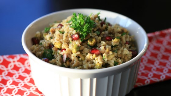 Photo of Freekeh Salad with Tahini Dressing by France C