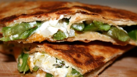 Photo of Asparagus and Goat Cheese Quesadillas by PainterCook