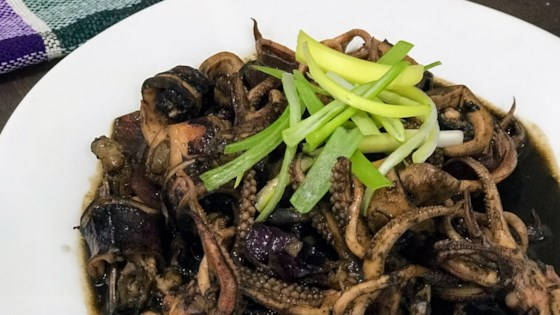 Photo of Adobong Pusit (Squid Adobo) by lola