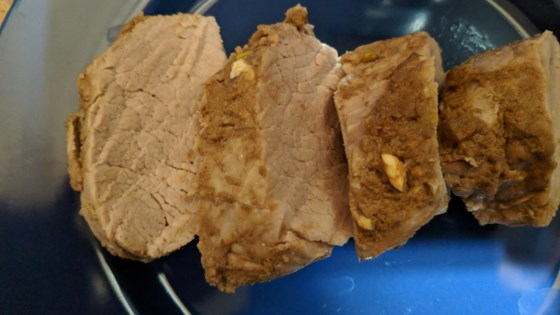 Photo of Baked Pork Tenderloin with Dijon Mustard by CindiG