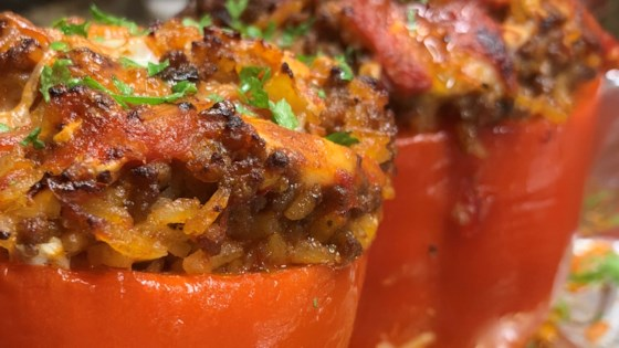 Photo of Stuffed Red Peppers by Jane