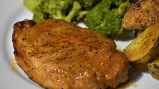 Honey-Garlic Pork Chops Recipe