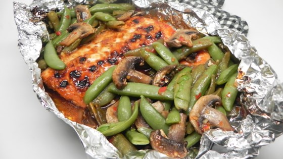 Photo of Asian Salmon Foil-Pack Dinner by Soup Loving Nicole